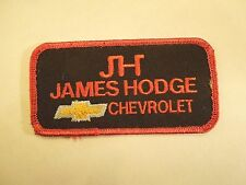 Vintage JH James Hodge Chevrolet Located in Oklahoma Iron On Patch