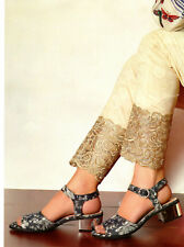Designer Trousers Pakistani Indian Women Embroidered Pants Salwar Stitched