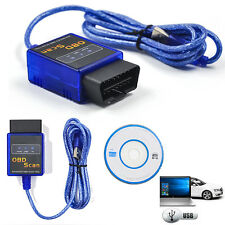ELM327 V2.1 ODB2 OBD II USB Car Auto Scanner Tool Diagnostic Scan Code Reader C