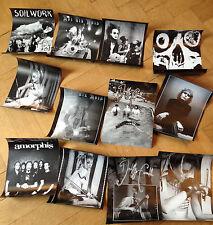 12x Orkus Poster: Him, Emilie Autumn, Balzac, Moi dix Mois, Deadfly Ensemble