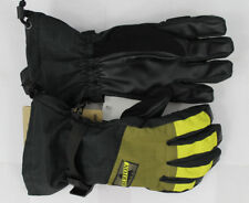 Burton Mens Approach Snowboard Gloves Small Black Hickory Toxin w/ Liner