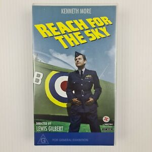 Reach for the Sky VHS Tape - Kenneth More - Black & White - TRACKED POST