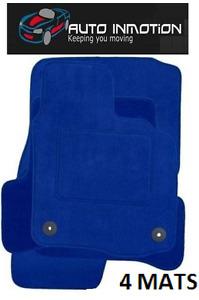 VW GOLF MK4 TAILORED FITTED CUSTOM MADE FULLY ALL BLUE CARPET Car Floor Mats
