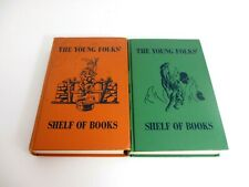 Lot of 2 The Young Folks - Shelf of Books Volumes 7 and 10
