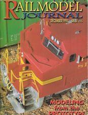 Railmodel Journal Dec.1998 Alco RS2 RSC2 Santa Fe Dash 8-40CW SP SD70M Graffiti