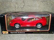 Maisto 1996 Ferrari 550 Maranello Red 1:18 Scale Diecast Model Car
