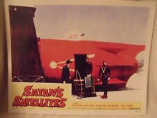 "1958 ""Satan's Satellites"" Lobby Card # 7 11 X 14 Sci Fi Horror"