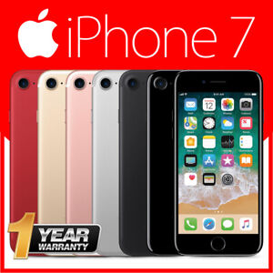 Apple iPhone 7 32GB 128GB 256GB Network Unlocked SIM Free 100% Genuine