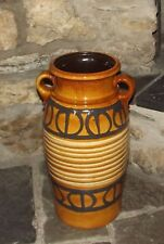 Retro West German Pottery Scheurich  220 - 44 Large Floor Vase Stick Stand 45cm