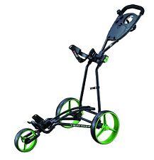 Big Max Autofold+ - 3-Rad-Golftrolley super schnell klappbar Farbe Black-Lime