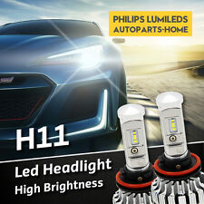 Pair H11 led Headlight Kit for 2009-2013 Mazda 3 (BL) Low Beam Neo Maxx SP25 MPS