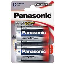 Panasonic dtype 2 pacco batterie alcaline potenza ideale soluzione per comunemente usato