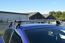M-Way Aluminium Roof Rack Rail Cross Bars for VW Golf 3dr 97-04 + Fixing Kit 40