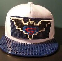 Unisex Baseball Cap Brick Lego Snapback Batman vs Superman White cotton hat