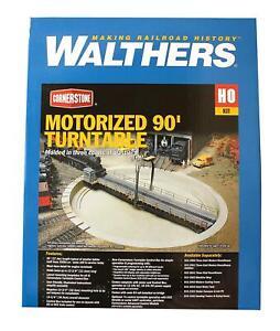 WALTHERS 'HO' GAUGE 933-2860 MOTORISED 90' TURNTABLE