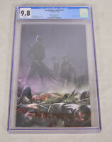 Dark Nights Metal 4 DC 2018 NM Francesco Mattina Variant CGC 9.8 Virgin Batman