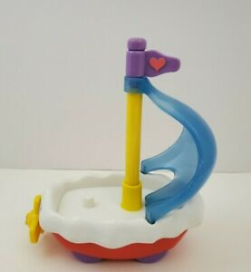 """Care Bears TCFC 2003 Care A Lot Cloud Boat SS Friendship Sail Replacement Toy 5"""""""