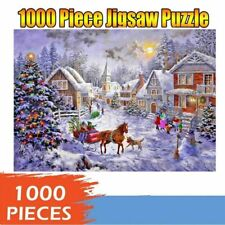 New Puzzle Christmas Jigsaw 1000 Piece Pieces  Educational  Kids Adults Gift