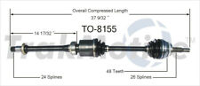 CV Axle Shaft Front Right SurTrack TO-8155