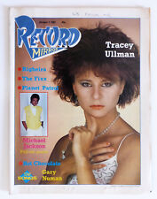 Record Mirror Magazine: October 1983, Michael Jackson Poster, Gary Numan..Etc.