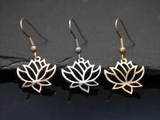 Orecchini di bigiotteria pendenti in oro in acciaio