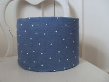 **VANESSA ARBUTHNOTT  FABRIC DOTTY CORNFLOWER ** LAMPSHADES COUNTRY STYLE CHIC