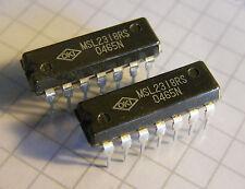 2x MSL2318RS 120MHz Divider, divide by 1/10/100, Oki
