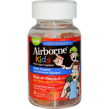 AIRBORNE - Vitamin C Gummies for Kids Assorted Fruit - 21 Gummies