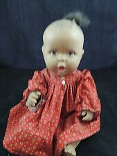 1994 Black African American Gerber Stationary Eyes Toy Biz Inc Baby Doll