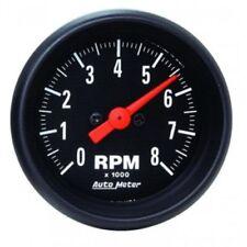 "Auto Meter 2698 2-1/16"" Z-Series In-Dash Electric Tachometer Gauge, 0-8,000 RPM"