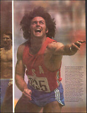1976 Vintage print Photo Kaitlyn Jenner Bruce wins at '76 Olypic Games (092515)