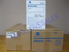 Konica Minolta DR310 Drum, DV310 Developer & 4040075200 Developer Assy