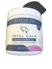 PetLab Chews Total Calm Calming Treats for Dogs Composure Dog Anxiety