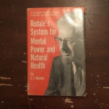 1971 Rodale's System For Mental Power and Natural Health by J I Rodale Hardcover