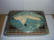 25929 Blechdose Jugendstil Möve tin Art Nouveau seagull  Wiener Werkstätten ?