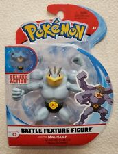 "Pokémon MACHAMP Deluxe Action Battle Feature Figure 4.5"" Series 4 Wicked Cool"