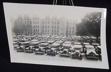 VINTAGE PIC OF A CAR LOT  PHOTO PHOPTGRAPH