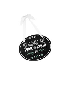 Pearhead Annoucement, Humans are Tying The Knot Pet Wedding Announcement Chal...