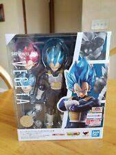 Tamashii Nations S.H. Figuarts Super Saiyan God Vegeta Blue Dragon Ball Super