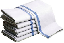 """HERRINGBONE STRIPED KITCHEN TOWELS 15""""x25"""" for Home and Restaurants, Cleaning Pu"""