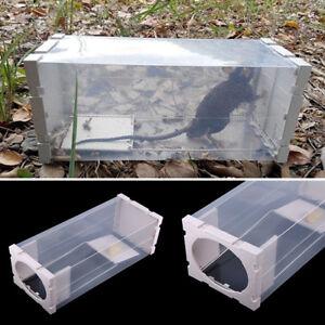 Humane Rat Trap Cage Animal Pest Rodent Mice Mouse Control Bait Catch Capture ZY