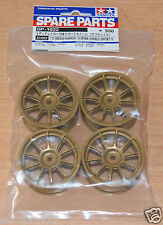 Tamiya 51022 Medium Narrow 10-Spoke Wheels (Offset 0) 4Pcs (Subaru Impreza), NIP