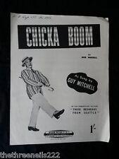 Partitura Original-Chicka Boom-Guy Mitchell