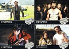 X-MEN ORIGINS WOLVERINE SET OF 72 CARDS