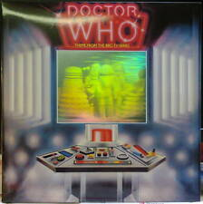 """Rare and MINT: Doctor Who theme cassette, 12"""" hologram sleeve, 1986"""