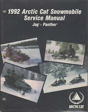 1992 ARCTIC CAT JAG and PANTHER SERVICE MANUAL USED