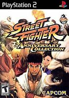 PS2 Sony Playstation 2 - STREET FIGHTER ANNIVERSARY Collection NTSC NEW