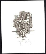 31)Nr.156- EXLIBRIS- Wojciech Luczak - Troja
