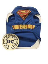 Superman DC Comics Superhero  Dog Cat Costume Size Small