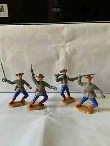 Timpo 4 US Civil war Confederate soldiers